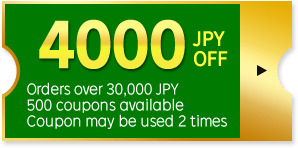 4000 JPY OFF Coupon