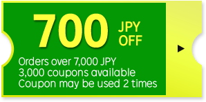 700 JPY OFF Coupon