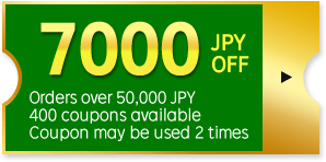 7000 JPY OFF Coupon