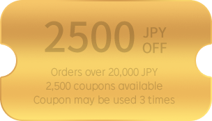 2500 JPY OFF
