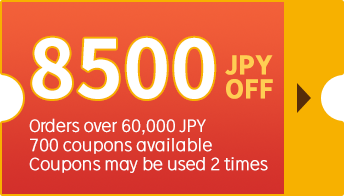 8500 JPY OFF
