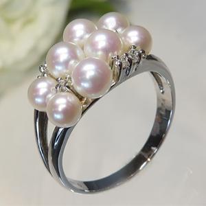 阿古屋 (Akoya) 小珍珠戒指