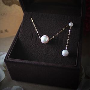 阿古屋 (AKOYA) 珍珠项链