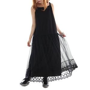 蕾丝连身裙