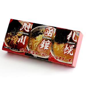 北海道地方特色拉麵一盒三味