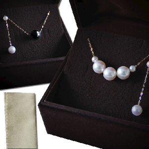 Pearl Necklaces & Earrings Set