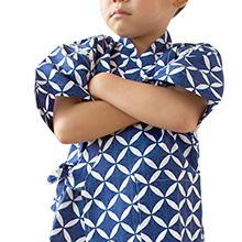 어린이용 진베이 (일본식 여름옷)