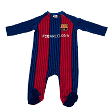 FC Barcelona Official 16-17 Long-Sleeved Rompers VS