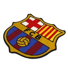FC Barcelona Official Escudo Mat (Soccer Fan Goods)