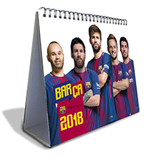 Official Desk Calendar 2018