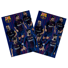 FC Barcelona Official Clear Folder