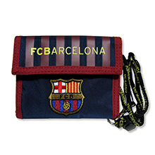 FC Barcelona Official Wallets (Horizontal) (Navy)