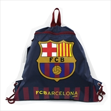 FC Barcelona Official Backpacks (Zippered) (Navy)