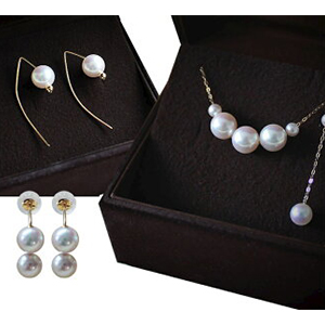 Pearl Necklaces/Earrings