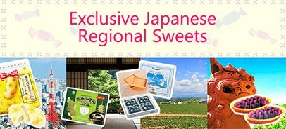 Exclusive Japanese Regional Sweets