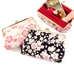 Japanese-Patterned Pouches