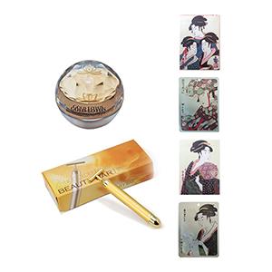 美容護膚組合(精華液+黃金美容棒+浮世繪面膜)