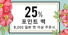 SPRING FAIR 25%포인트 백