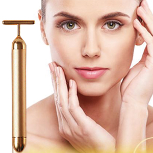 24k Golden Pulse Facial Massager
