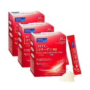Fancl HTC Collagen Powder (3 boxes)