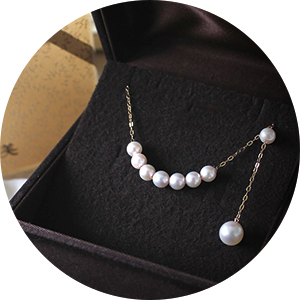 Akoya Pearl Set (Necklace/Bracelet/Earring)