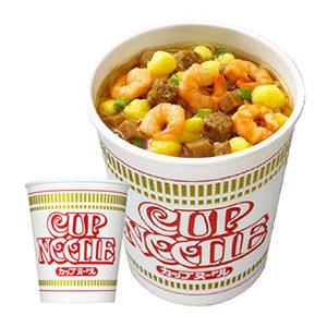 닛신 컵누들 오리지널 수프 간장 맛