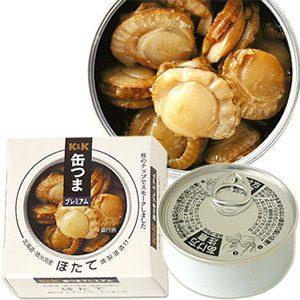 北海道產 帆立貝 燻製油漬品