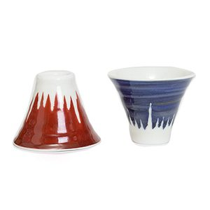 Mt. Fuji Sake Set