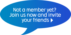Not a member yet? Join us now and invite your friends.