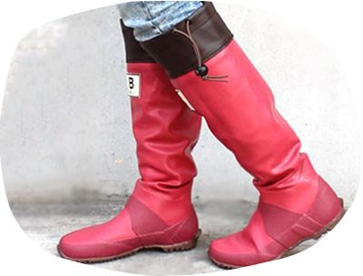 Bird-watching Rain Boots