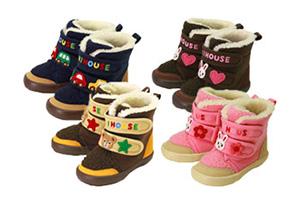 mikihouse婴儿冬靴