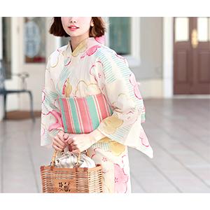 日本夏日浴衣套装