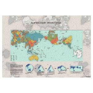 Autha Graph World Map Poster