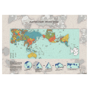 Autha Graph 世界地圖海報