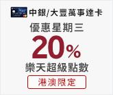 Bank of China 20%