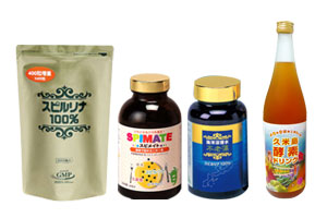 Japan Algae Spirulina Promotion Shop