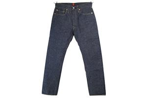 RESOLUTE男士修身直筒日本制牛仔裤