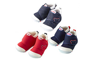 MIKIHOUSE日本制造婴儿学步鞋