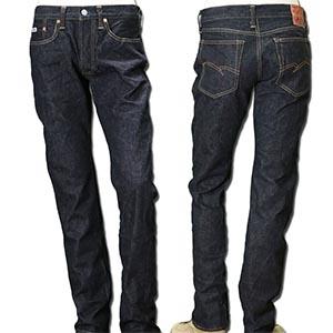 修身剪裁畅销日本 STUDIO D'ARTISAN牛仔裤 SD-107 直筒