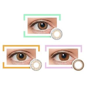 LIL MOON美瞳 萝拉设计日抛10片装  彩色隐形眼镜 直径 14.4mm 14.2mm