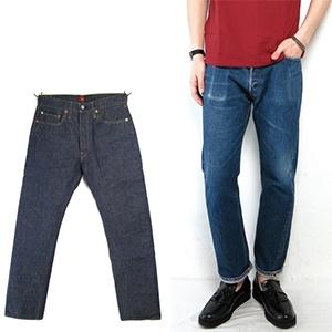 RESOLUTE 修身直筒牛仔裤 Rigid&Onewash 13.75oz 纯棉牛仔裤