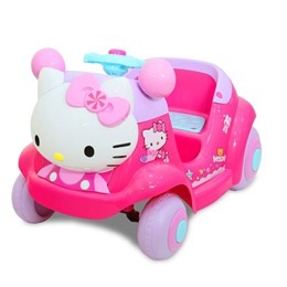 Hello Kitty凱蒂貓-超可愛粉嫩嫩遙控兒童電動車