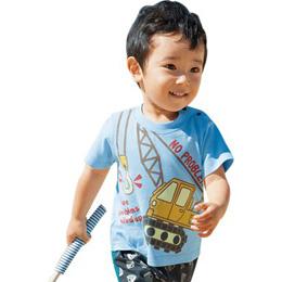 超強現貨裝 活潑小男童短袖圖T-3件組