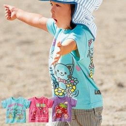 日本空運 100%純棉輕薄可愛短袖圖T(3件組)
