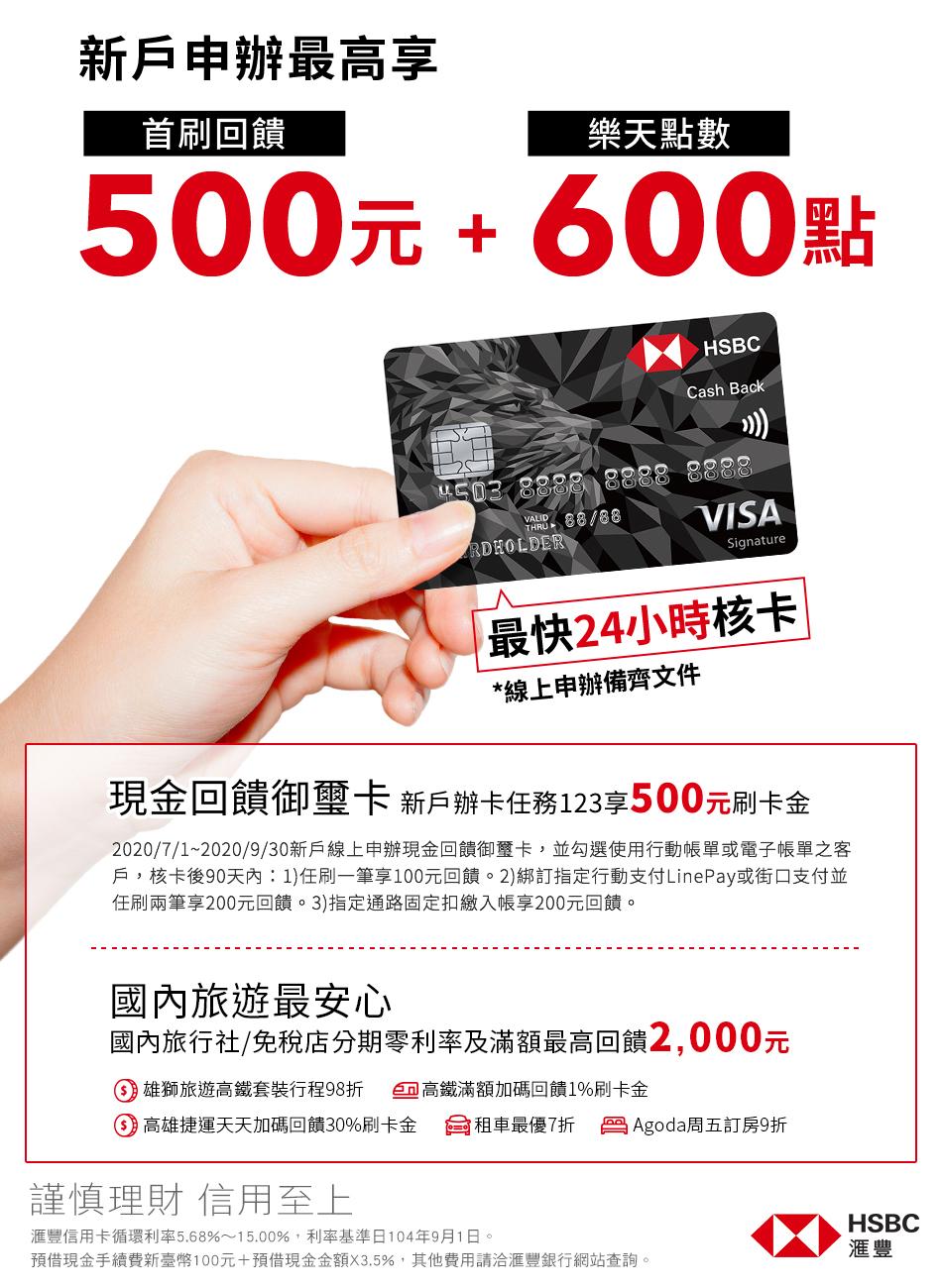 滙豐信用卡