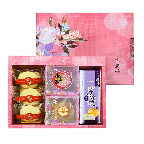 中秋月餅花韻禮盒 10入裝