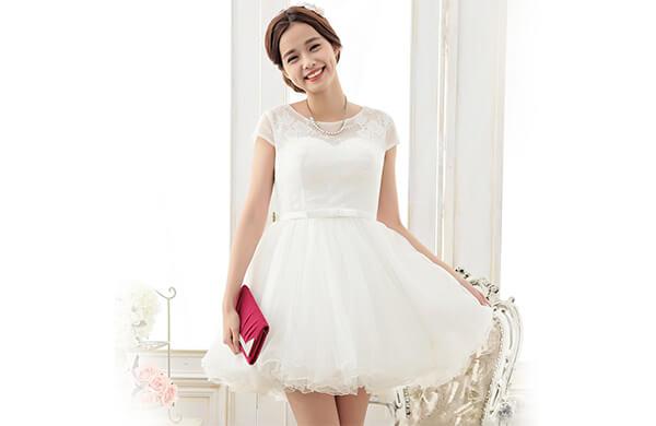 公主款小禮服