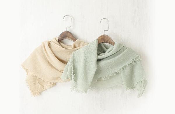 棉質圍巾披肩
