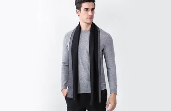 男性圍巾披肩