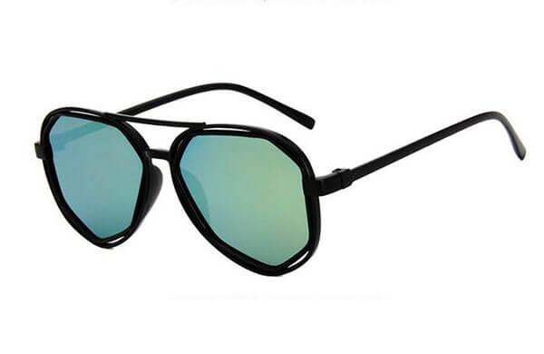 八角形鏡框太陽眼鏡